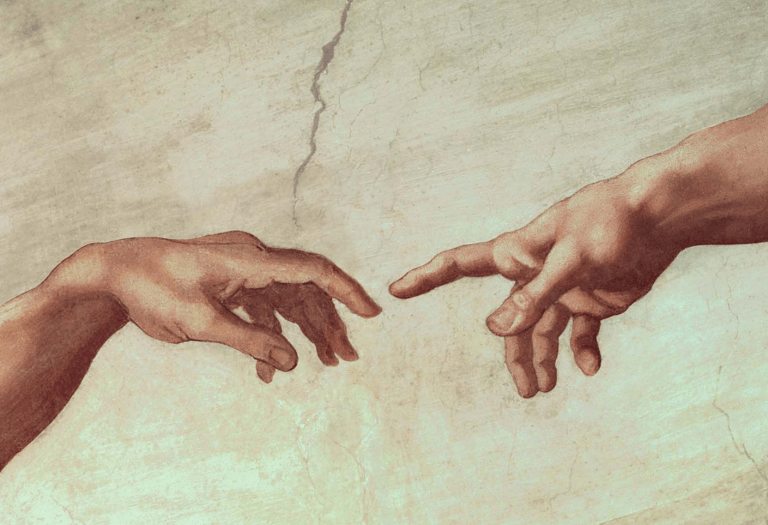 photo of creation painting